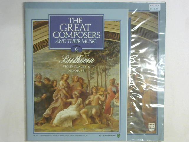 Violin Concerto In D, Opus 61 LP By Ludwig van Beethoven