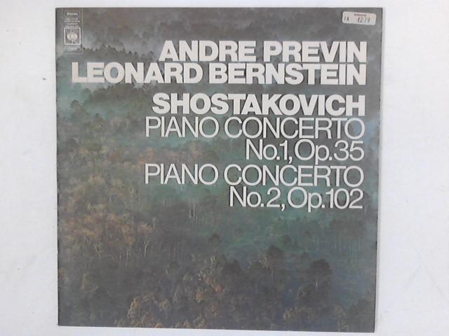 Piano Concerto No.1, Op.35 / Piano Concerto No.2, Op.102 LP By Andr Previn