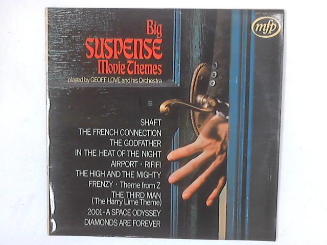 Big Suspense Movie Themes LP By Geoff Love & His Orchestra