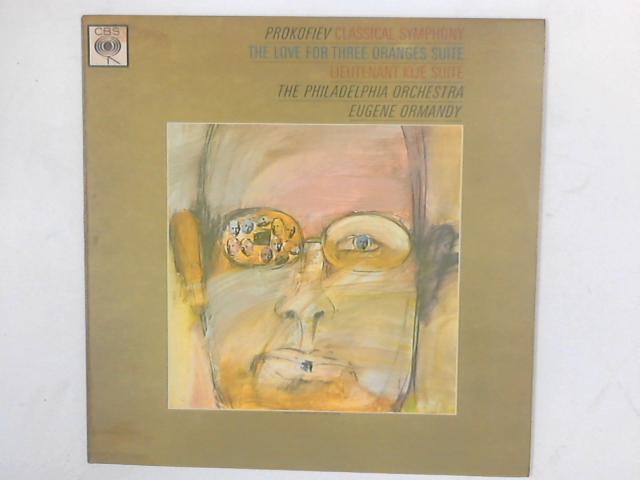 Classical Symphony / The Love For Three Oranges Suite / Lieutenant Kijé Suite LP By Sergei Prokofiev