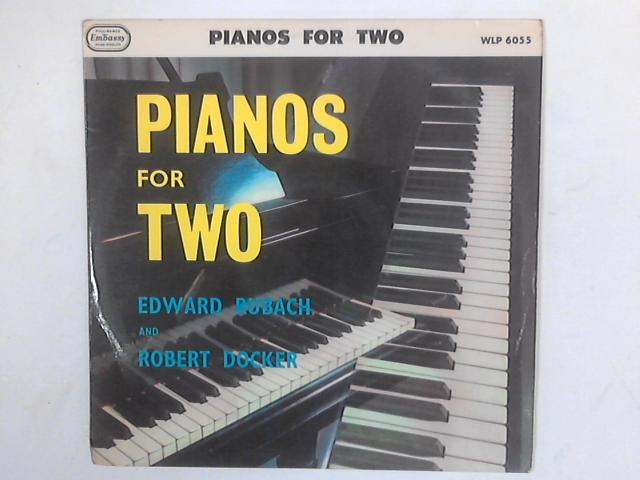 Pianos For Two LP By Edward Rubach