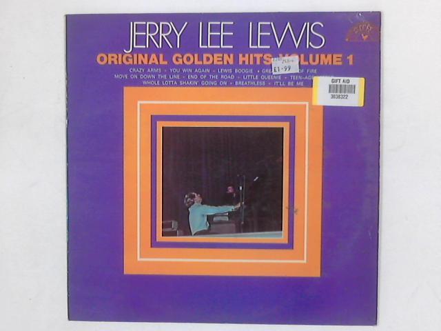 Original Golden Hits - Volume 1 LP COMP By Jerry Lee Lewis