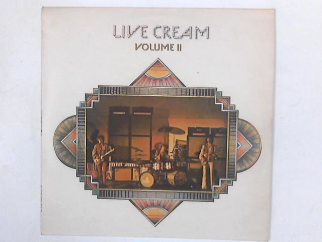 Live Cream Volume II LP By Cream (2)