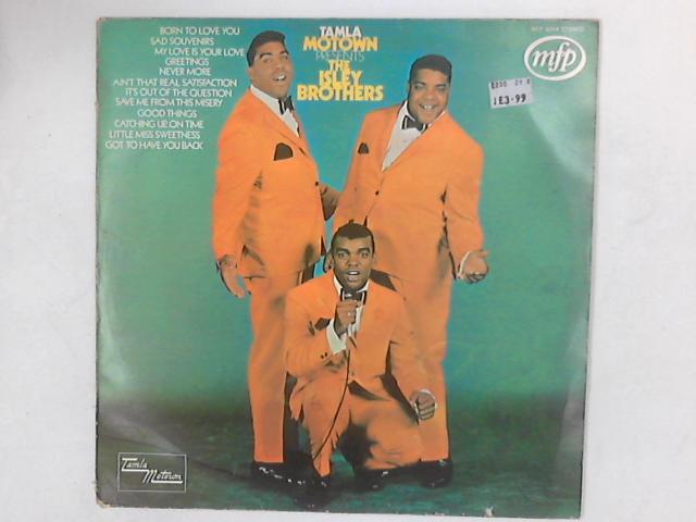 Tamla Motown Presents The Isley Brothers LP COMP By The Isley Brothers