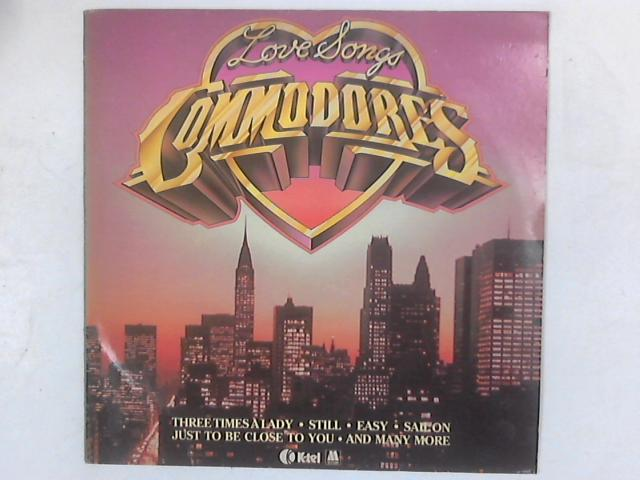 Love Songs LP COMP By Commodores