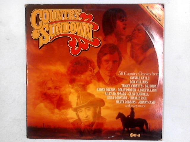 Country Sundown 2xLP COMP GATEFOLD By Various