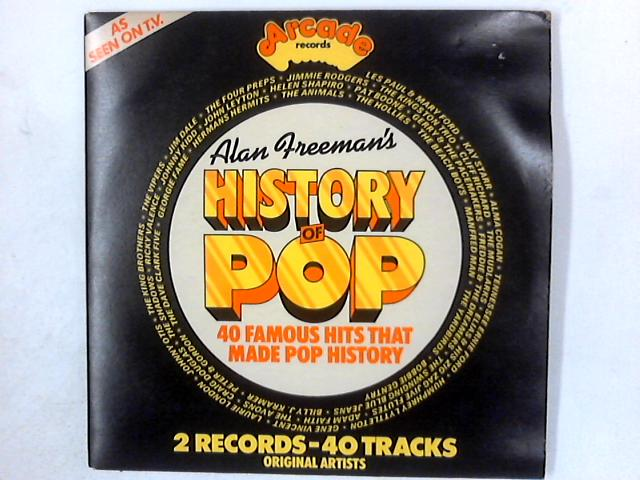 Alan Freeman's History Of Pop 2xLP COMP GATEFOLD By Various