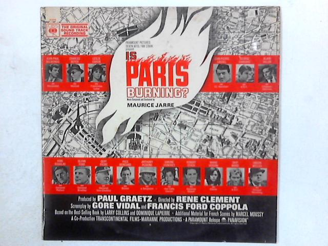 Is Paris Burning (Original Sound Track Recording) LP By Maurice Jarre