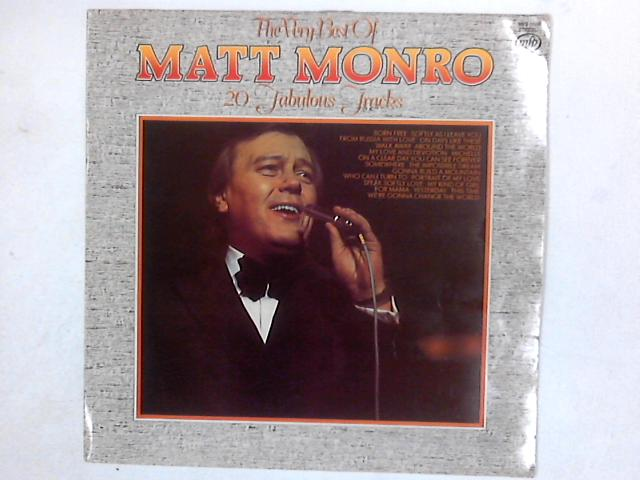 The Very Best Of Matt Monro LP COMP By Matt Monro