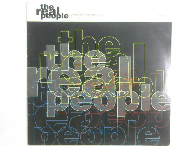 Window Pane (Extended Version) 12in By The Real People