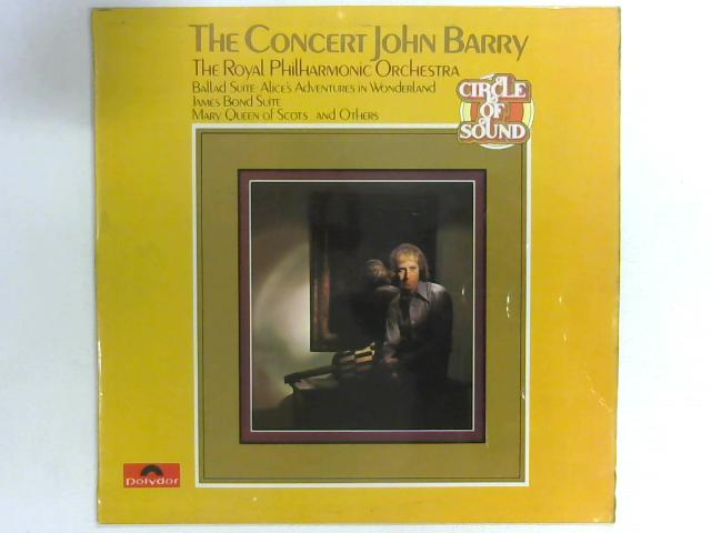 The Concert John Barry LP By The Royal Philharmonic Orchestra