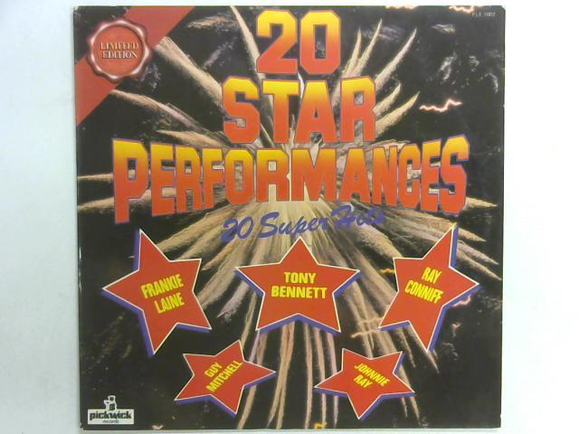 20 Star Performances LP By Various