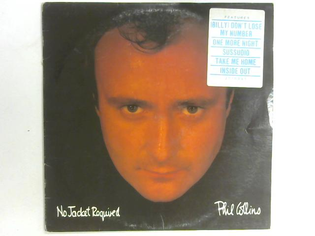 No Jacket Required LP By Phil Collins
