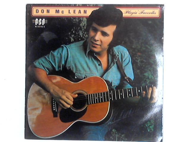 Playin' Favorites LP By Don McLean