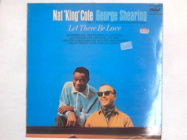 Nat King Cole Sings / George Shearing Plays Let There Be Love LP By Nat King Cole