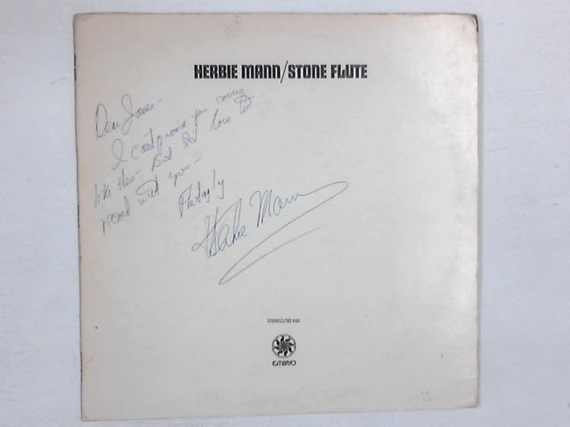 Stone Flute LP SIGNED By Herbie Mann