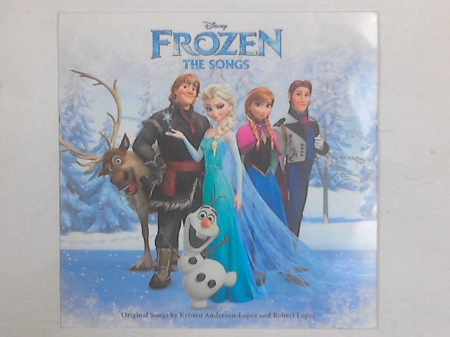 Frozen The Songs LP By Kristen Anderson-Lopez