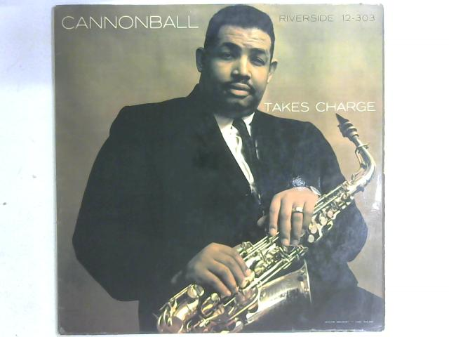 Cannonball Takes Charge LP By Cannonball Adderley Quartet