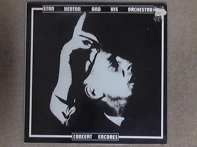 Concert Encores LP (FH-40) by Stan Kenton