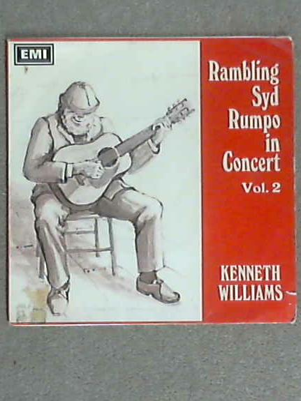 """Rambling Syd Rumpo In Concert Vol. 2 EP 7"""" (GEP8966) by Kenneth Williams"""