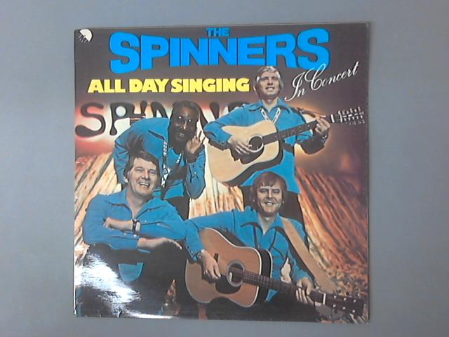 All Day Singing LP by Spinners