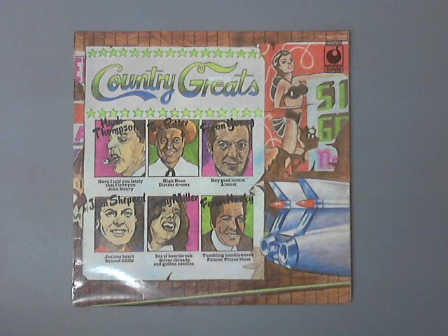 Country Greats LP (SPR 90028) by Various