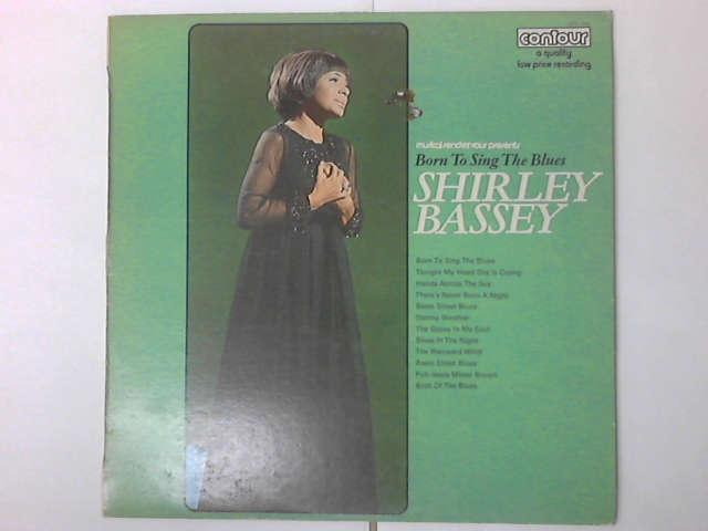 Born to sing the blues LP (6870 568) by Shirley Bassey