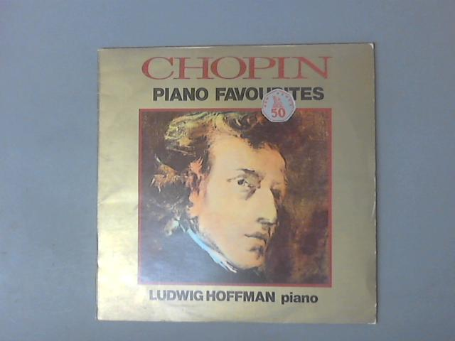 Piano Favourites LP (MER 201) by Ludwig Hoffman