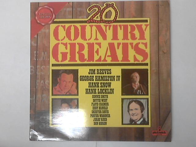 20 Country Greats LP by Various
