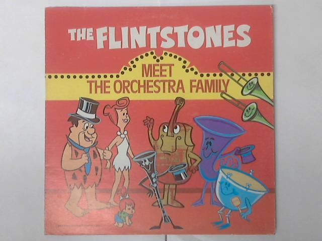 The Flintstones Meet The Orchestra Family  LP by The Flinstones