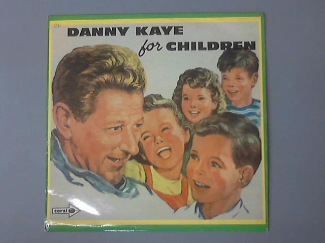 Danny For Children LP  by Danny Kaye